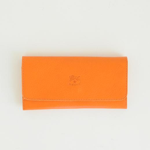 IL BISONTE(イルビゾンテ)長財布 5412300340 L-66 オレンジ