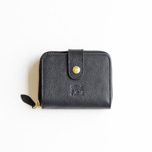 IL BISONTE(イルビゾンテ)折財布 54152309440 L-35 クロ
