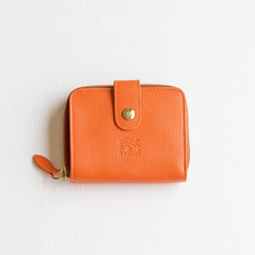 IL BISONTE(イルビゾンテ)折財布 54152309440 L-66 オレンジ