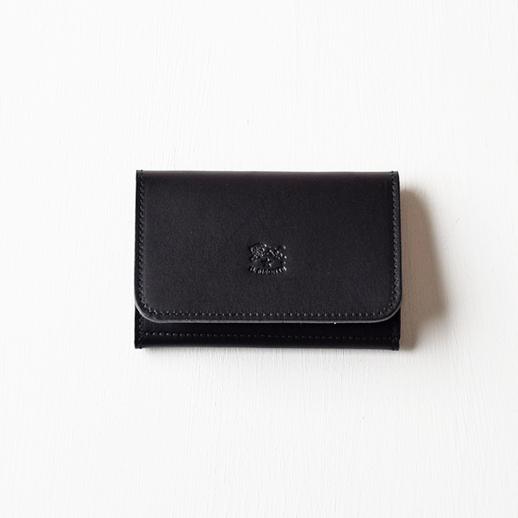IL BISONTE(イルビゾンテ)カードケース 54152309493 L-48 ブラック