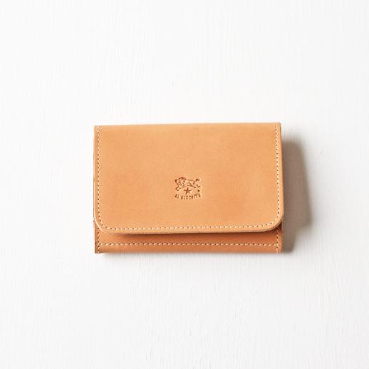 IL BISONTE(イルビゾンテ)カードケース 54152309493 L-81 ビスケット