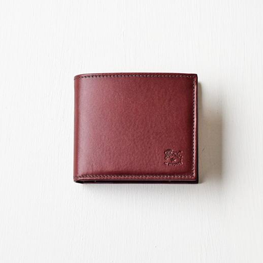 IL BISONTE(イルビゾンテ)折財布 54152311540 L-47 ワインブラウン