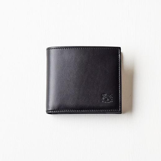 IL BISONTE(イルビゾンテ)折財布 54152311540 L-48 ブラック