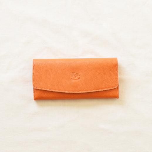 IL BISONTE(イルビゾンテ) 長財布 54162304340 L-66 オレンジ