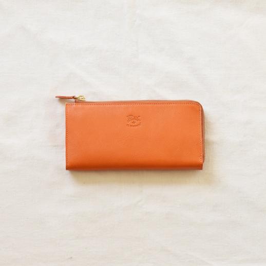 IL BISONTE(イルビゾンテ) 長財布 54162304540 L-66 オレンジ