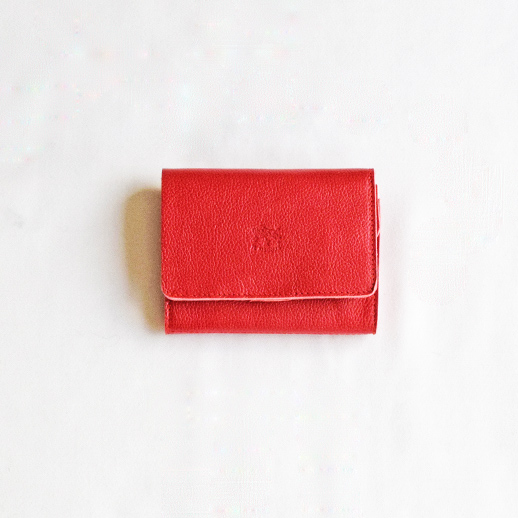 IL BISONTE(イルビゾンテ) 折財布 54172304140 L-34 アカ