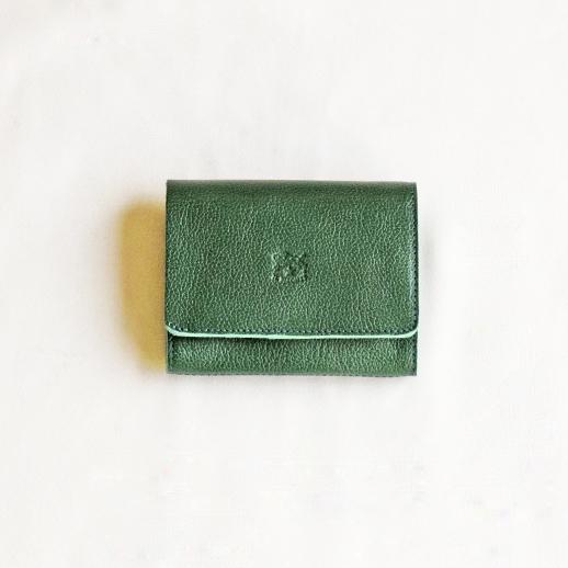 IL BISONTE(イルビゾンテ) 折財布 54172304140 L-93 グリーン
