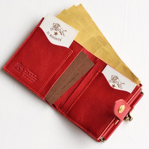 IL BISONTE(イルビゾンテ)折財布 54172309340
