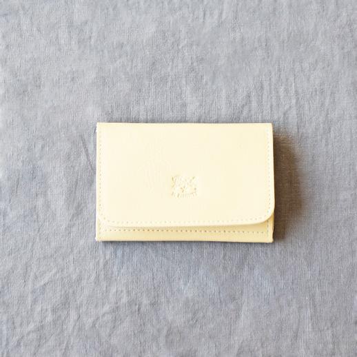IL BISONTE(イルビゾンテ) 【season color】カードケース 54182304193