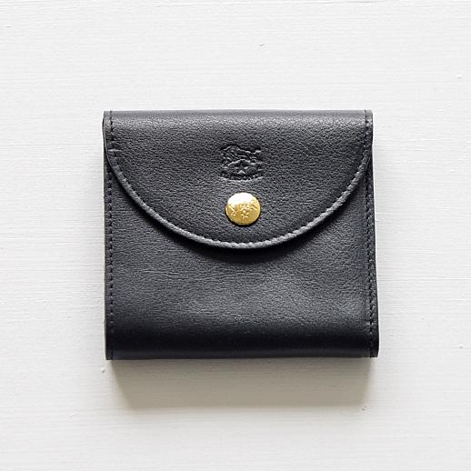 IL BISONTE(イルビゾンテ) 折財布 54182309240 L-37 ネイビー