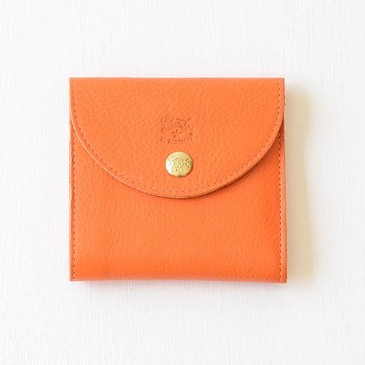 IL BISONTE(イルビゾンテ) 折財布 54182309240 L-66 オレンジ