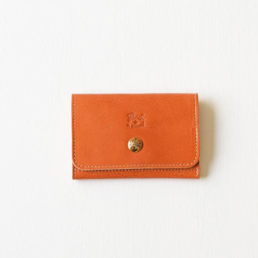IL BISONTE(イルビゾンテ)カードケース 54192304193 L-45 キャメル