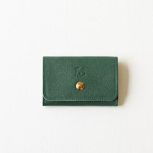 IL BISONTE(イルビゾンテ)カードケース 54192304193 L-93 グリーン