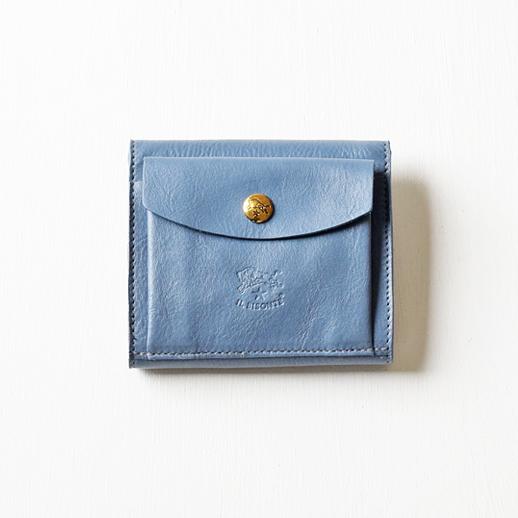 IL BISONTE(イルビゾンテ)折財布 【Pre-A/W collection】54192309140L-79 ズッケロ(ブルー)
