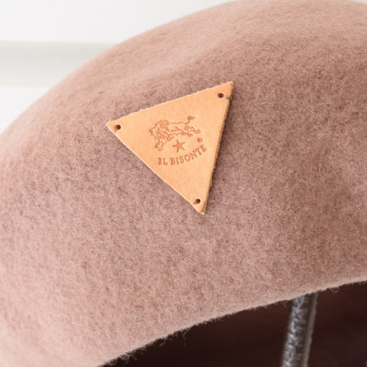 IL BISONTE(イルビゾンテ)ベレー帽 54192309283