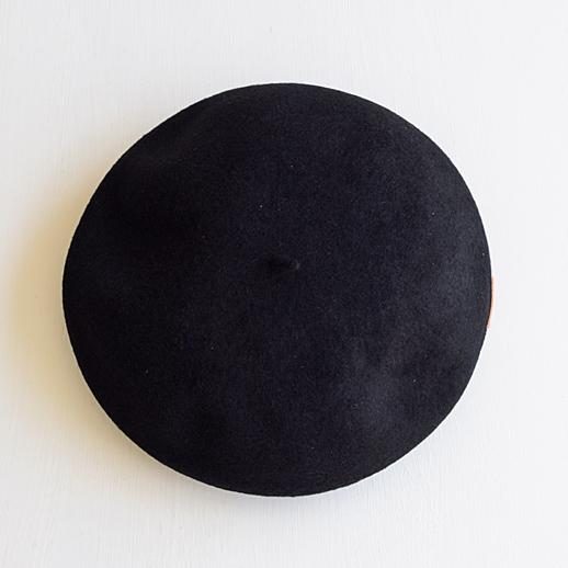 IL BISONTE(イルビゾンテ) ベレー帽 54192309283 99 ブラック