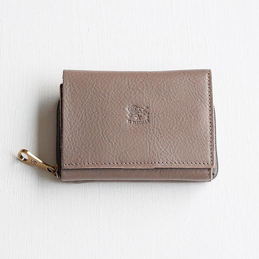 IL BISONTE(イルビゾンテ) 折財布 54192310140 L-18 ミドルグレー