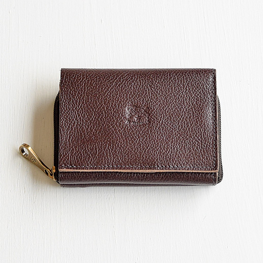 IL BISONTE(イルビゾンテ) 折財布 54192310140 L-32 コゲチャ