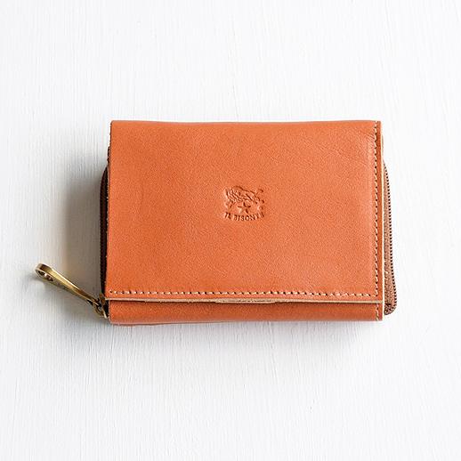 IL BISONTE(イルビゾンテ) 折財布 54192310140 L-45 キャメル