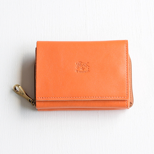 IL BISONTE(イルビゾンテ) 折財布 54192310140 L-66 オレンジ