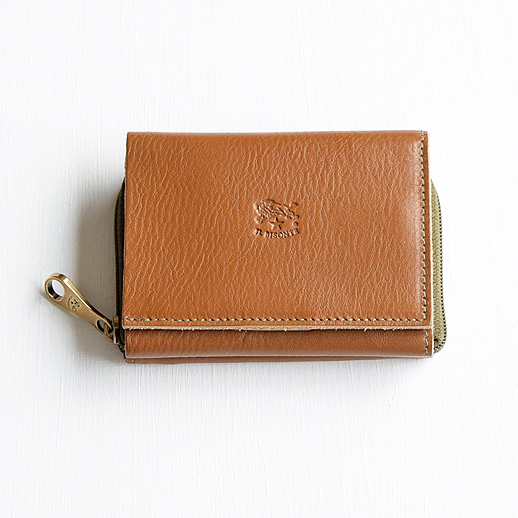 IL BISONTE(イルビゾンテ) 折財布 54192310140 L-67 カーキ