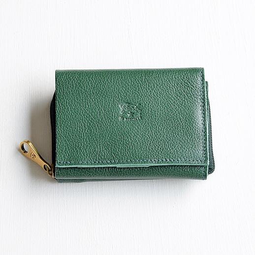 IL BISONTE(イルビゾンテ) 折財布 54192310140 L-93 グリーン