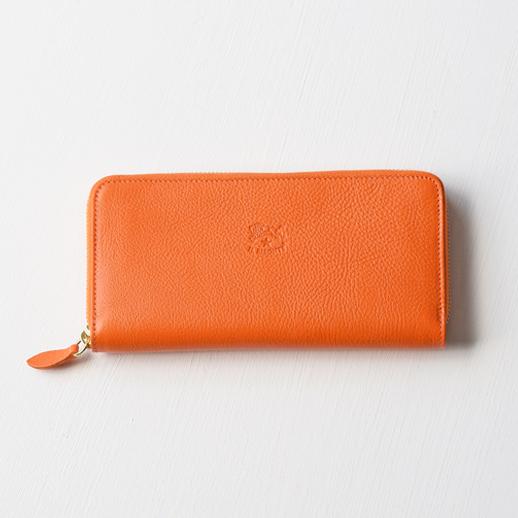 IL BISONTE(イルビゾンテ)長財布 54202304240 L-66 オレンジ
