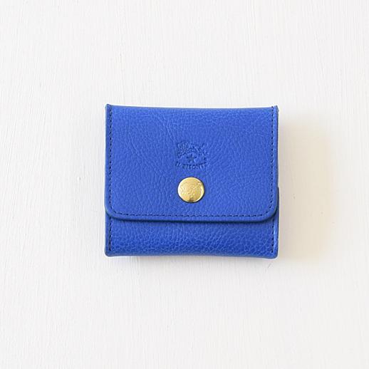 IL BISONTE(イルビゾンテ)コインケース 54202304341 L-18 ブルーベリー(ブルー)