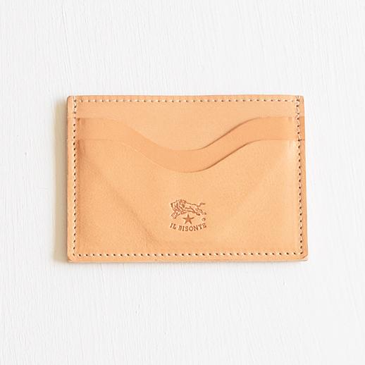 IL BISONTE(イルビゾンテ)カードケース 54202304590L-20 ヌメ