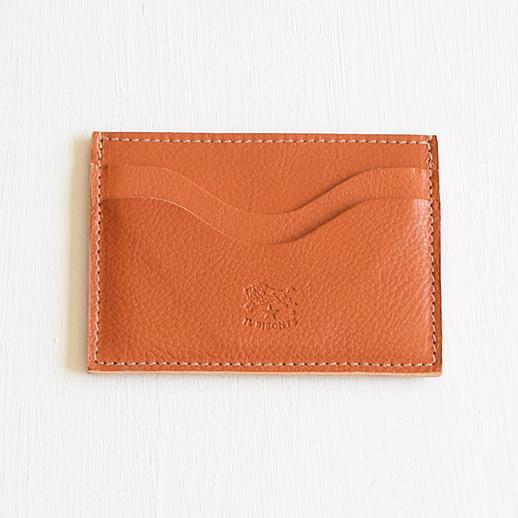 IL BISONTE(イルビゾンテ)カードケース 54202304590L-45 キャメル