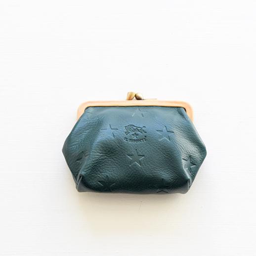 IL BISONTE(イルビゾンテ) コインケース 54202304641 L-42 ローズマリー(グリーン)×ヌメ