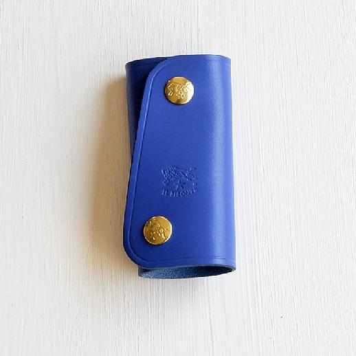 IL BISONTE(イルビゾンテ)キーケース 54202305090 L-18 ブルーベリー(ブルー)