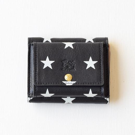 IL BISONTE(イルビゾンテ)折財布 54202314040 L-80 ブラック