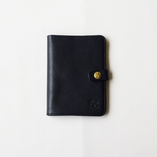 IL BISONTE(イルビゾンテ) 折財布 411155 L-37 ネイビー