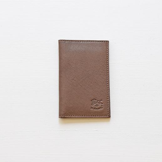 IL BISONTE(イルビゾンテ)カードケース 411341 L-18 ミドルグレー