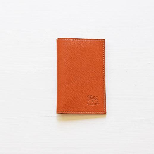 IL BISONTE(イルビゾンテ)カードケース 411341 L-45 キャメル