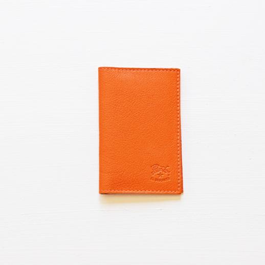 IL BISONTE(イルビゾンテ)カードケース 411341 L-66 オレンジ