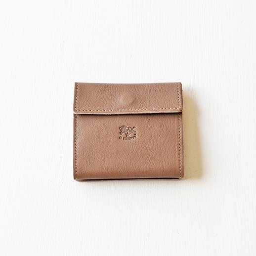 IL BISONTE(イルビゾンテ)折財布 411465 L-18 ミドルグレー