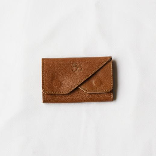 IL BISONTE(イルビゾンテ)カードケース 412227 L-67 オリーブ