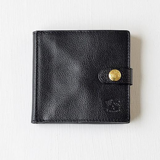 IL BISONTE(イルビゾンテ) 折財布 412228 L-35 クロ