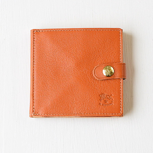 IL BISONTE(イルビゾンテ) 折財布 412228 L-45 キャメル