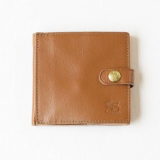 IL BISONTE(イルビゾンテ) 折財布 412228 L-67 カーキ