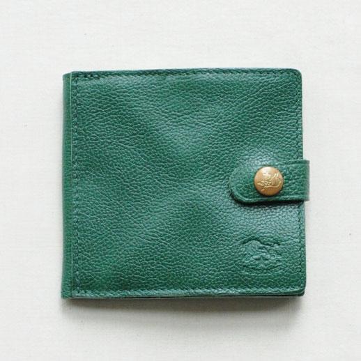 IL BISONTE(イルビゾンテ) 折財布 412228 L-93 グリーン