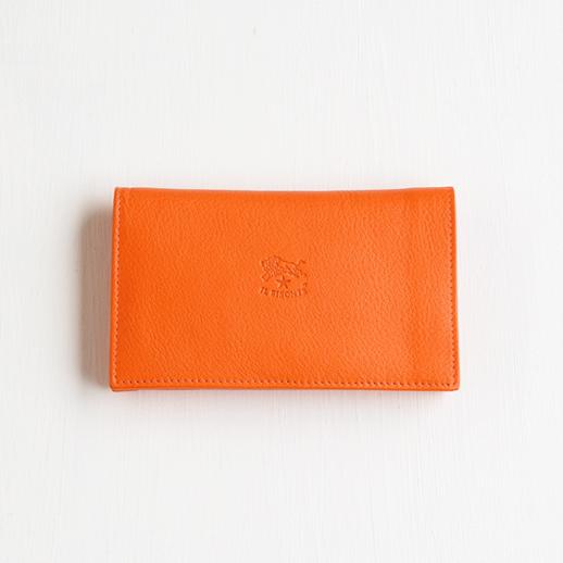 IL BISONTE(イルビゾンテ)  折財布 5442404840 L-66 オレンジ