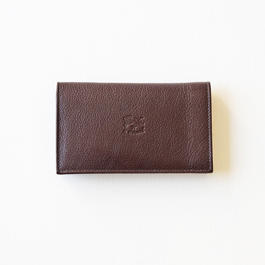 IL BISONTE(イルビゾンテ)折財布 5442404840 L-32 コゲチャ