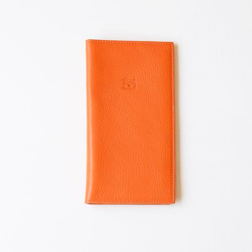 IL BISONTE(イルビゾンテ)長財布 5472301340 L-66 オレンジ