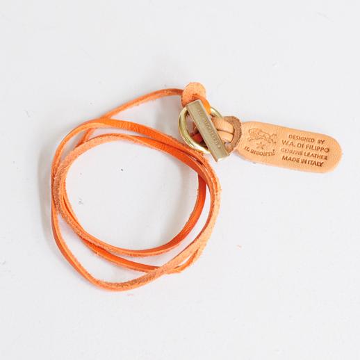 IL BISONTE(イルビゾンテ) ブレスレット 5492300097 L-66 オレンジ
