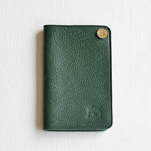 IL BISONTE(イルビゾンテ) カードケース 5492305190 L-93 グリーン